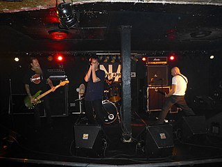 Negative Approach American hardcore punk band