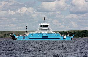 Lake Diefenbaker - The Riverhurst Ferry