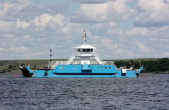 Lake Diefenbaker - The Riverhurst Ferry