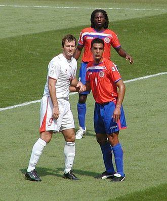 Maciej Żurawski - Żurawski in a match against Costa Rica in 2006 FIFA World Cup