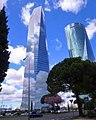 Madrid - CTBA, Torre de Cristal y Torre Espacio 19.jpg