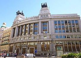 Edificio Del Banco De Bilbao Madrid Wikipedia La Enciclopedia Libre