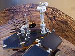 Madrid Planetarium, maqueta del Spirit rover, Madrid, España, 2015 05.JPG