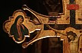 Maestro espressionista di santa chiara, croce processionale, umbria 1320 ca. 03.jpg