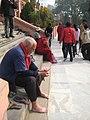 Mahabodhi Temple - Contemplating a Lotus Flower.jpg