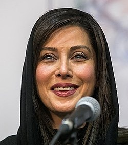 Mahtab Keramati, 1st day of 36th Fajr Film Festival (1396111323182558813204974) (cropped).jpg