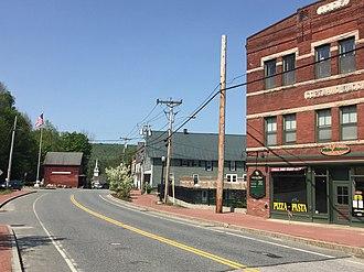 Enfield, New Hampshire - Image: Main Street Enfield NH