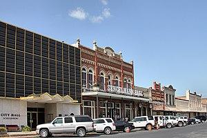Schulenburg, Texas - Image: Main street schulenburg 2012