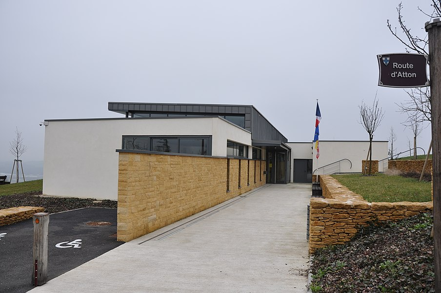 Mairie, Mousson, Lorraine, France