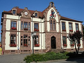 Town hall of Bartenheim