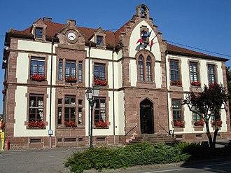 Bartenheim - Town hall of Bartenheim