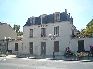 Crosne, Essonne - The town hall of Crosne