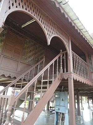 Perakian Malay people - Traditional Malay house architecture in Perak, Malaysia.