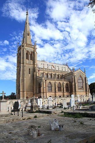 Emanuele Luigi Galizia - Our Lady of Sorrows church at the Addolorata Cemetery