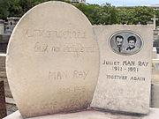 Tumba de Man Ray