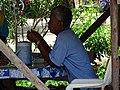 Man in Restaurant - Ayutthaya - Thailand (34810239071).jpg