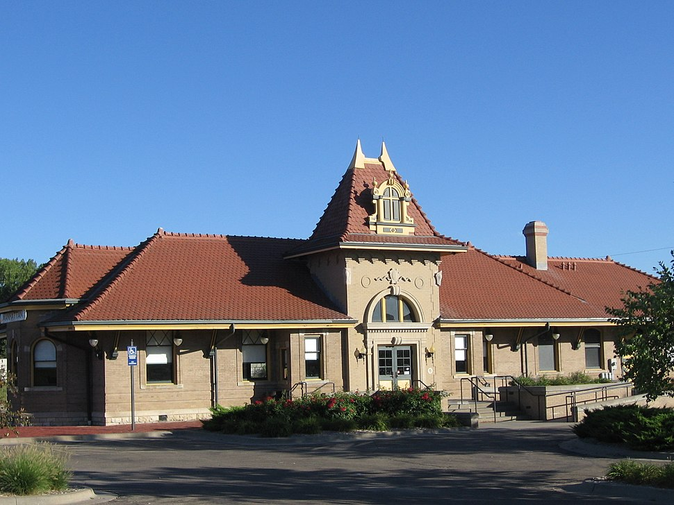 Manhattan Kansas Union Pacific station