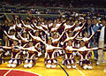 Manuel L. Quezon University cheering squad.jpg