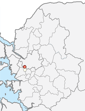 Location of Gwangmyeong