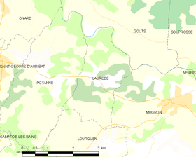 Map commune FR insee code 40147.png