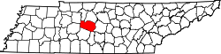 Map of Tennessee highlighting Williamson County.svg