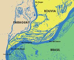 Mapa del Punto Tripartito Bolivia Brasil Paraguay.png