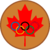 Maple leaf olympic bronze medal.png