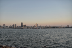 Partial view of Maputo