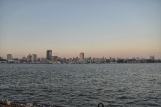 Maputo - View of the city from Katembe