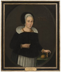 Margareta Zaebråzyntia Bureus, 1594-1657, gift med 1. Elaus Terserus 2. Uno Troilius