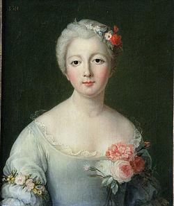 Marie-Thérèse-Félicité d'Este  (copie par Rosalie Grossard, déb. XIXesiècle)