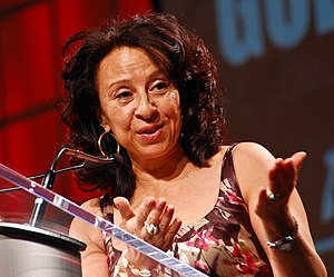 Maria Hinojosa - Hinojosa speaking in 2013