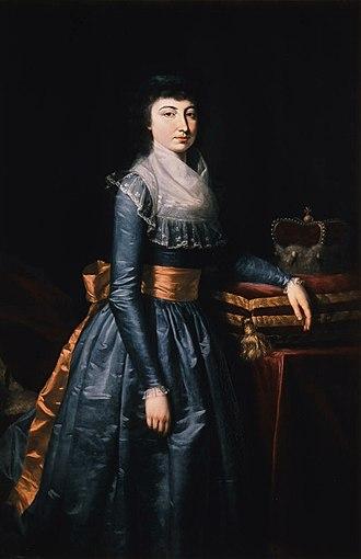 Maria Beatrice d'Este, Duchess of Massa - Image: Maria Leopoldine of Habsburg Este
