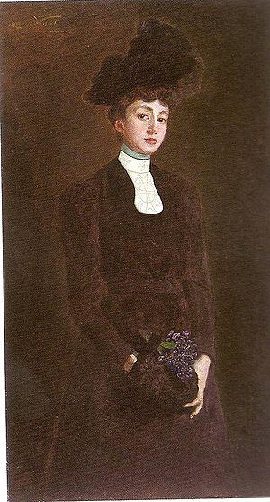 Lluïsa Vidal - Image: Maria Luisa Güell i López, 1900