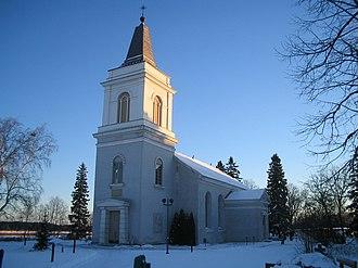 Hamina - Image: Marian kirkko talvella 2