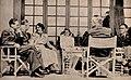 Marie og Gulbrand Lunde Et liv i kamp for Norge Rikspropagandaledelsen Blix forlag 1942 Page 021 Gimle Lunde, Hagelin, Maria Quisling, Olaf Hoff.jpg