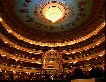 The main auditorium of the Mariinsky Theatre Mariinsky Theatre in Saint Petersburg.jpg