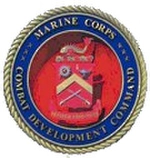 Marine Corps Combat Development Command - Image: Marine Corps Combat Development Command Seal 120x 126