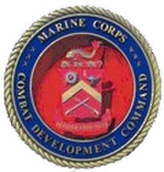 Marine Corps Combat Development Command - Image: Marine Corps Combat Development Command Seal 120x 126