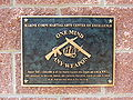 Marine Corps Martial Arts Center of Excellence plaque 01.jpg