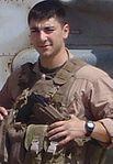 Marines bid farewell to fallen brother in Afghanistan 111003-M-AB123-001.jpg