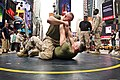 Marines grapple in Time Square (4948745599).jpg