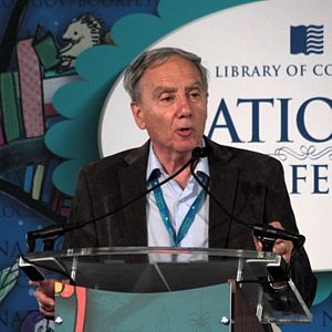 Mario Livio - Speaking on 22 September 2013 on the National Mall in Washington, DC during the 2013 National Book Festival