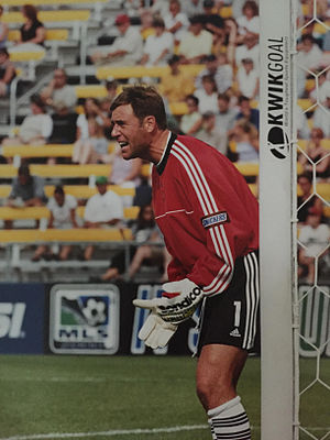 Mark Dougherty - Mark Dougherty playing for the Columbus Crew