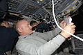 Mark Kelly at work during STS-124.jpg