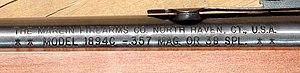 Marlin Model 1894 - Marlin 1894C rollmark