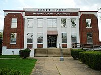 Marshall County, Alabama Courthouse.JPG