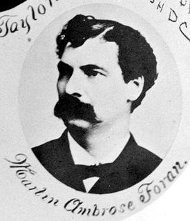 Martin A. Foran American politician