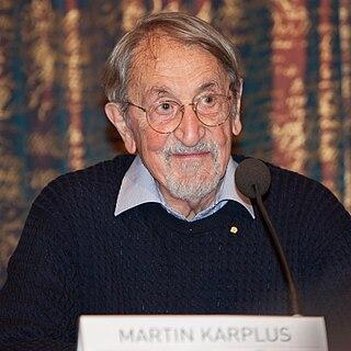 Martin Karplus Austrian-born American theoretical chemist