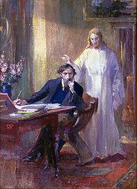 Martin von Feuerstein Selbstporträt mit Christuserscheinung.jpg